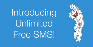 vodafone unlimited free sms